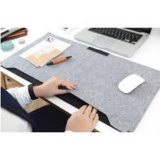 souris pour ordinateur de bureau feutre pochette pour ordinateur portable tapis de bureau durable
