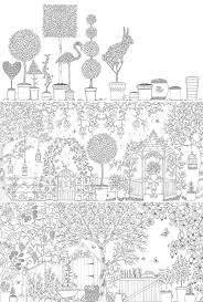 Secret Garden Coloring Book Enchanted Forest