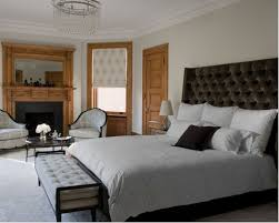 Inspiration For A Timeless Bedroom Remodel In New York With Beige Walls Standard Fireplace