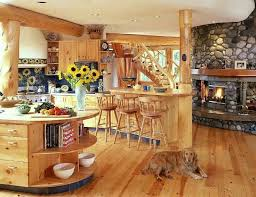 Small Log Cabin Kitchen Ideas by Log Cabin Interior Decorating Interior Design