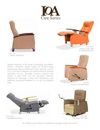 Wall Saver Reclining Couch by Trendelenburg Recliner Ioa Healthcare Furniture Pdf Catalogues