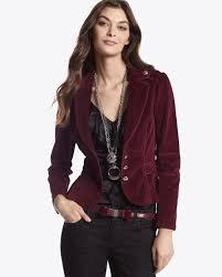 plum corduroy jacket whbm