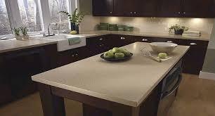 brown cabinets with white quartz countertop search