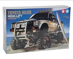 Tamiya Toyota Hilux High-Lift Electric 4X4 Scale Truck Kit [TAM58397 ...