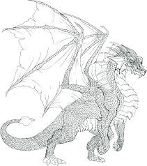 Dragons Image Gallery Website Dragon Coloring Pages For Adults