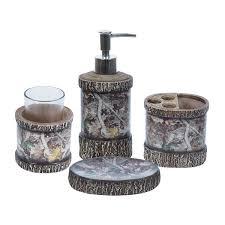 Realtree Camo Bathroom Set by Rustic Bathroom And Cabin Decor The Cabin Shack