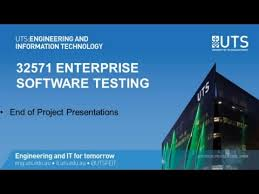 enterprise software tesing presentations to uts itd 2016 youtube
