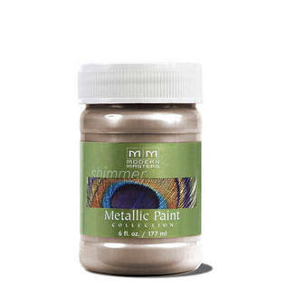 Modern Masters Metallic Paint - Brass, 177ml