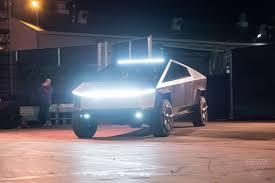 100 Dedicated Truck Driving Jobs Elon Musk Is Driving Teslas Cybertruck Prototype Around Los