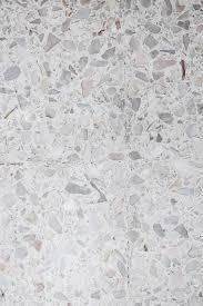 Stone Wall TextureTerrazzo Floor Small White Cement Stock