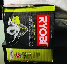 Ryobi Wet Tile Saw Ws730 by Ryobi Tile Saws Ebay