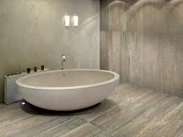 Tiling A Bathroom Floor by Tile That Looks Like Wood Larix