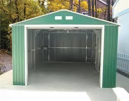 Metal Storage Sheds Jacksonville Fl by Duramax 12 X 20 Metal Utility Building Green Storage Shed Kit