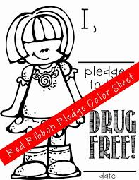 ARTrageous Fun Red Ribbon Week Just Say No Activities Pledge