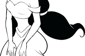 Princess Jasmine Coloring Pages Printable Free Page