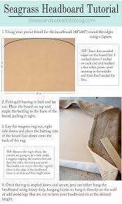 Pottery Barn Seagrass Headboard by Pottery Barn Knock Off Seagrass Headboard