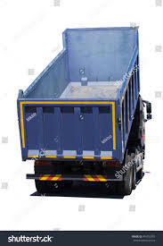 100 Big Blue Truck Dump Isolated On Stock Photo Edit Now 474755707
