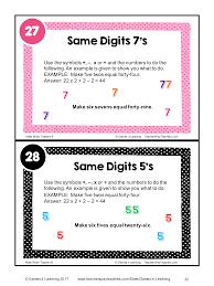 Halloween Brain Teasers Math by Math Task Cards Math Problems And Math Brain Teasers Cards Set B
