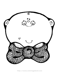 Printable Baby Coloring Pages Boy