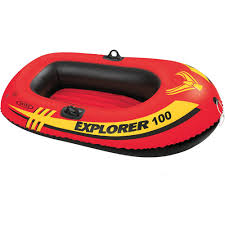 Intex Excursion 5 Floor Board by Intex Excursion 5 5 Person Inflatable Boat Set With Aluminum Oars