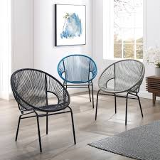 100 2 Chairs For Bedroom Html Shop Corvus Sarcelles Woven Wicker Patio Set Of On Sale