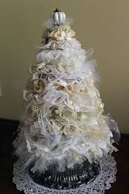 Christmas Tree Decorations Ideas Youtube by Shabby Chic Christmas Tree Tutorial Https Www Youtube Com