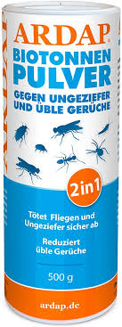 ardap biotonnen pulver 500g gegen fliegen maden ungeziefer üble gerüche entzieht feuchtigkeit verhindert schimmel
