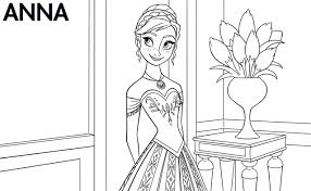 Frozen Coloring Pages Online Best