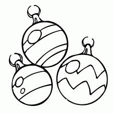 Coloring Pages Christmas Ornaments Printable Best Resume Collection