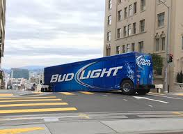 Beer Truck Stuck Near Super Bowl 50 | Medium Duty Work Truck Info Bud Light Sterling Acterra Truck A Photo On Flickriver Teams Up With The Pladelphia Eagles For Super Promotion Lil Jon Prefers Orange And Other Revelations From Beer Truck Stuck Near Super Bowl 50 Medium Duty Work Info Tesla Driver Fits 1920 Cans Of In Model X Runs Into Bud Light Budweiser Youtube Miami Beach Guillaume Capron Flickr Page Everysckphoto 2016 Series Truckset Cws15 Ad Racing Designs Rare Vintage Bud Budweiser Delivers Semi Sign Tin Metal As Soon As I Saw This Knew Had T