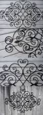 Wrought Iron King Headboard And Footboard by Bedrooms Chic Wrought Iron Headboard For Cool Bedroom Decoration