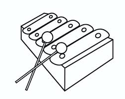 Music Instrument Coloring Pages