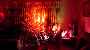 New Rotating Color Wheel For Christmas Tree by Vintage Aluminum Christmas Tree In Mid Century Houselk Youtube