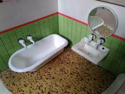 puppenstube puppenhaus 50er 60er badezimmer 1