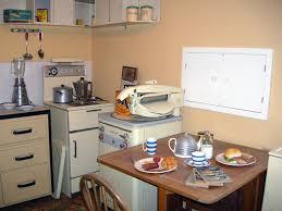 Kitchen 1950s Decor Smeg 50s Refrigerator With Freezer Compartment Black Left Hand Hinges