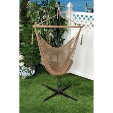 Living Accents Folding Hammock Chair by Bliss Hammocks Tahiti Cotton Hammock Chair Multiple Colors