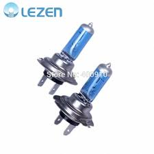 discountlezen 2x car h7 halogen xenon light bulbs px26d low beam