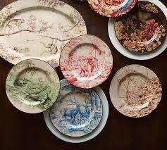 Sabyasachi Salad Plate Mixed Set of 4 Animals
