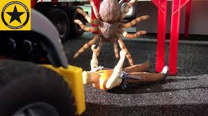 100 Tarantula Trucks BRUDER Toys SPIDER ATTACK In Jack City BRUDER LIEBHERR LOADER TRUCKS
