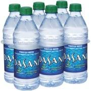 Dasani Purified Water 5 L 6pk