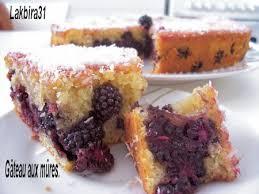 gâteau aux mûres toute la cuisine que j aime