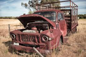 100 Wrecked Truck Truck Abandoned Truck York Penisula Field Old And