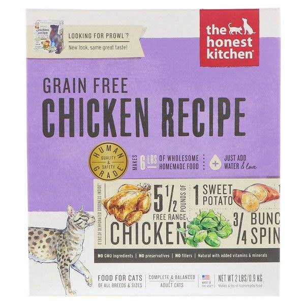 The Honest Kitchen Human Grade Dehydrated Grain Free Cat Food - Chicken