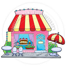 Cartoon Bakery Shop