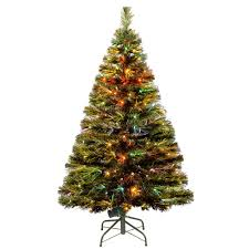 Fiber Optic Christmas Trees Canada by National Tree Company 2 6 Ft Battery Operated Fiber Optic Ice