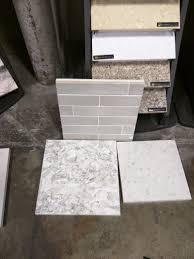This Bathroom Cement Tile Floor Is In Progress In Corpus Christi by Quartz Kitchen Cambria Berwyn Google Search Modern Kitchen