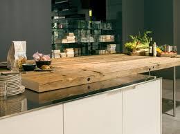 choisir les matériaux pour plan de travail bois brut massif