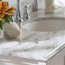 Home Depot Bathroom Sinks And Countertops by Home Decorators Collection 49 In Stone Effects Vanity Top In