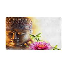 Detail Feedback Questions About Statue Buddha Zen And Bamboo Doormat