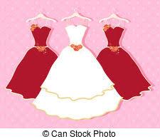 Red Dress clipart wedding dress 9